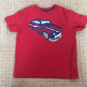 Hanna andersson boys red graphic tee
